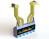 An example the Valor HeatShift System using the sidewall application (option 2)