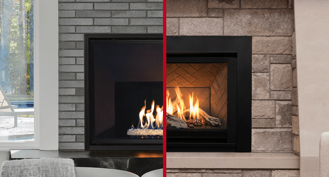Valor H5 and H6 gas fireplace brochure