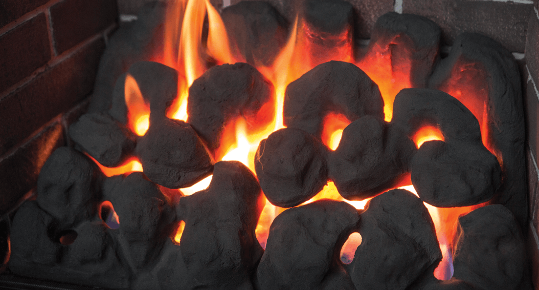 Portrait Coals for Valor gas fireplaces