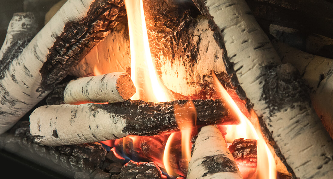 Birch Logs for Valor gas fireplaces