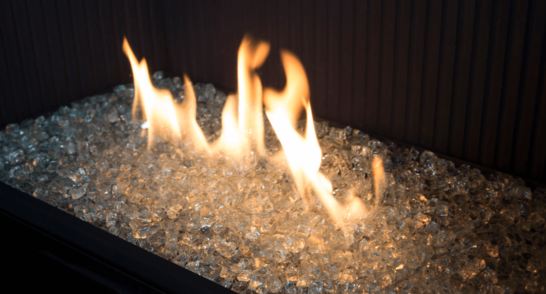 Decorative Glass for Valor gas fireplaces