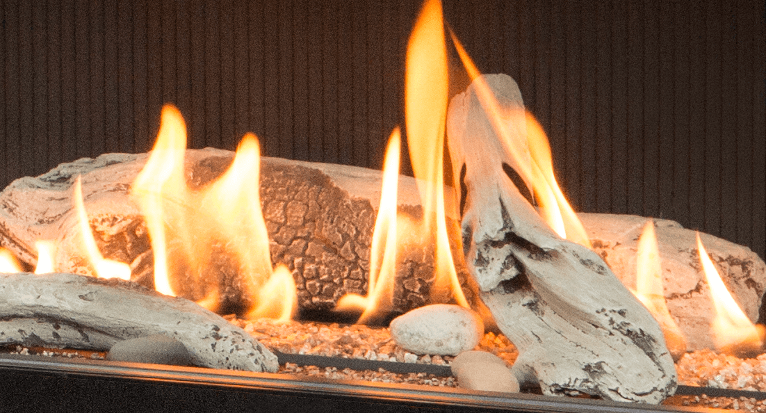 Long Beach Driftwood for Valor gas fireplaces