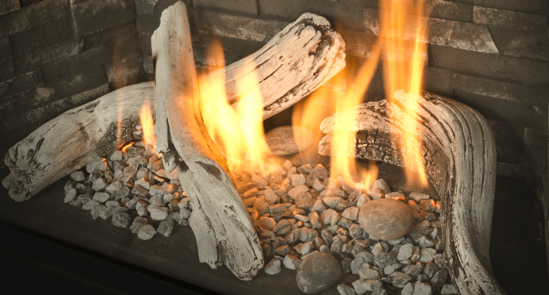 Pebble Beach Driftwood for Valor gas fireplaces