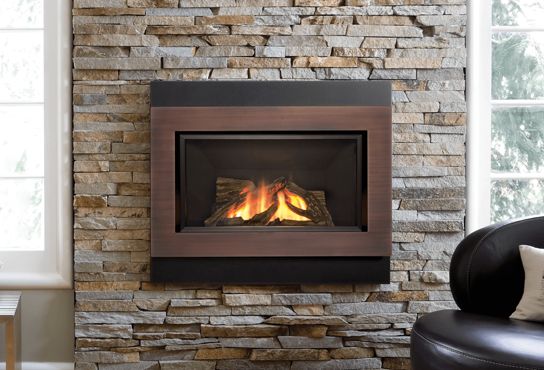 in valor kit fireplace fluted with and hearth trim brushed surround the beach bronze long screen home gas bd liner driftwood nickel sided black sutter product