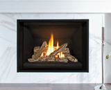 H5 Series shown with Traditional Logs and 1 Inch Fixed Framing Kit in Black