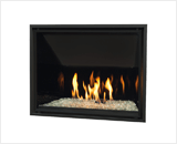 H6 Series shown with Decorative Glass, Reflective Glass Liner and 1 Inch Fixed Framing Kit