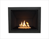 H6 Series shown with Murano Glass, Fluted Black Liner and 4 Sided Trim in Black