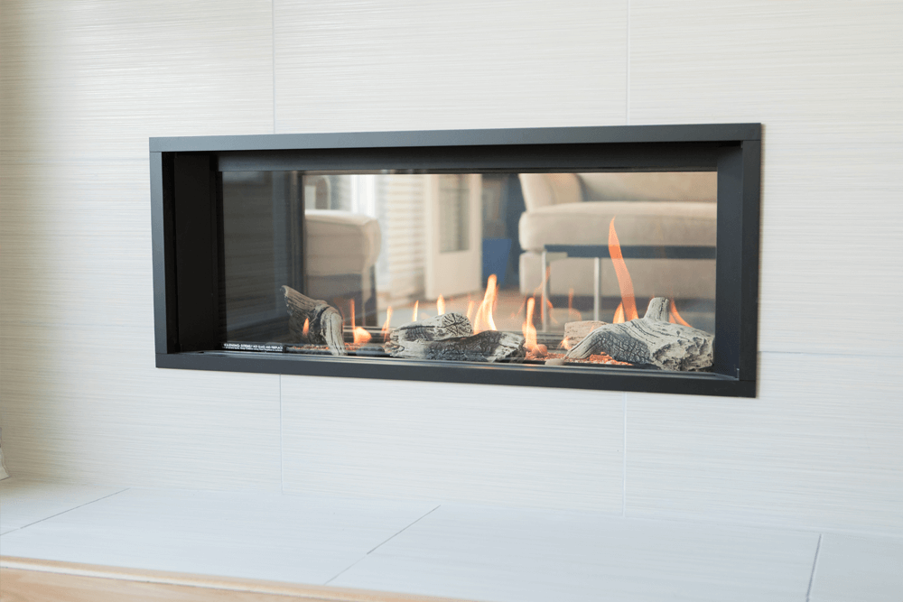 Fantastic L1 See Thru Gas Fireplace Valor Gas Fireplaces Beutiful Home Inspiration Truamahrainfo