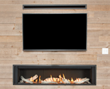 L3 Linear Series shown with Driftwood, 1 Inch Surround and HeatShift System
