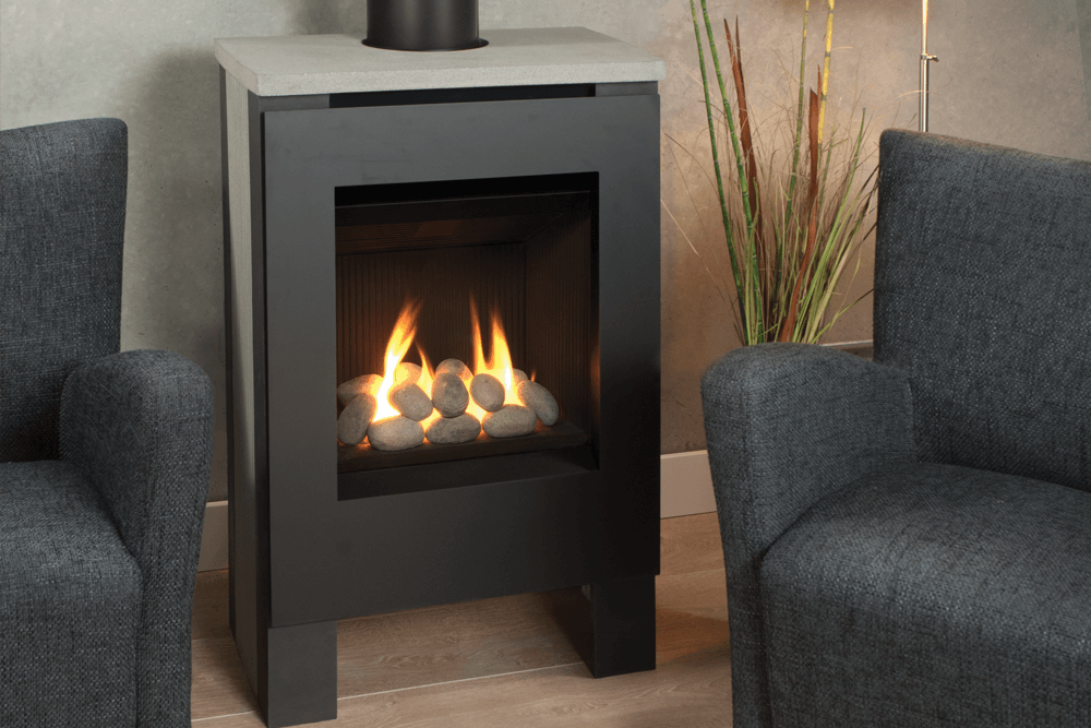 Portrait Lift Freestanding - Valor Fireplace Products