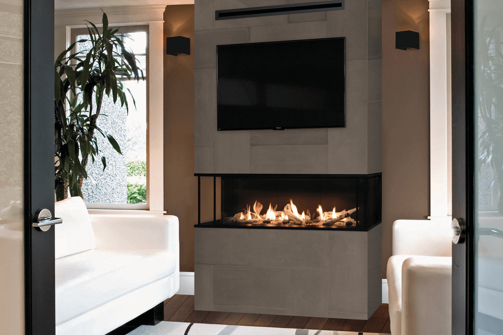 LX2 3-Sided and Corner Gas Fireplaces | Valor Gas Fireplaces