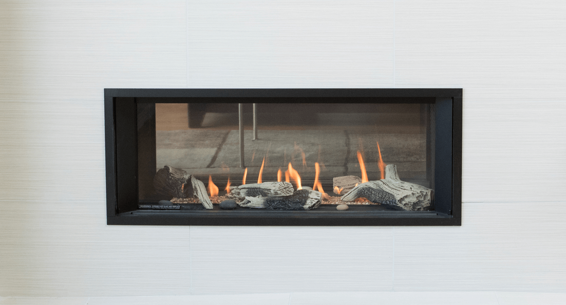 Valor L1 See-Thru linear gas fireplace