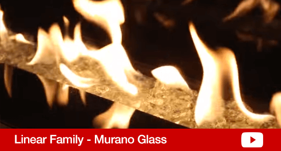 Linear Murano Glass