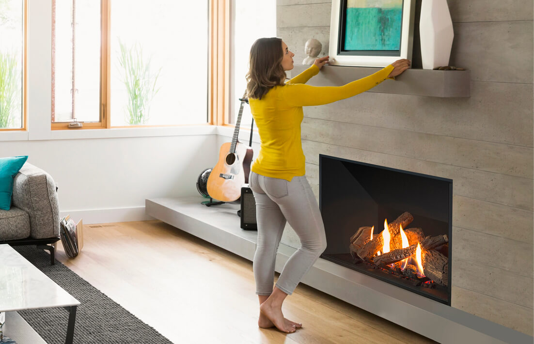 What to look for in a gas fireplace
