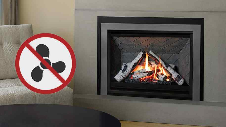 Should my gas fireplace have a fan/blower?