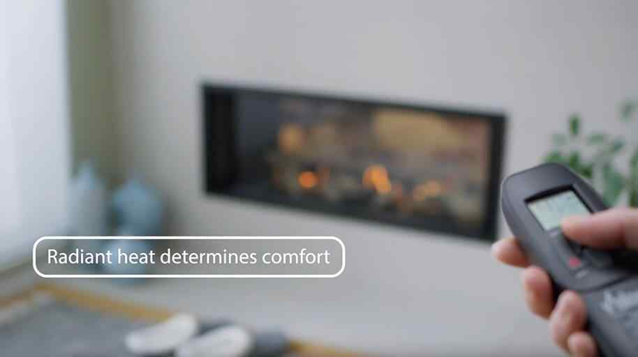 How does radiant heat figure in the Comfort Zone?